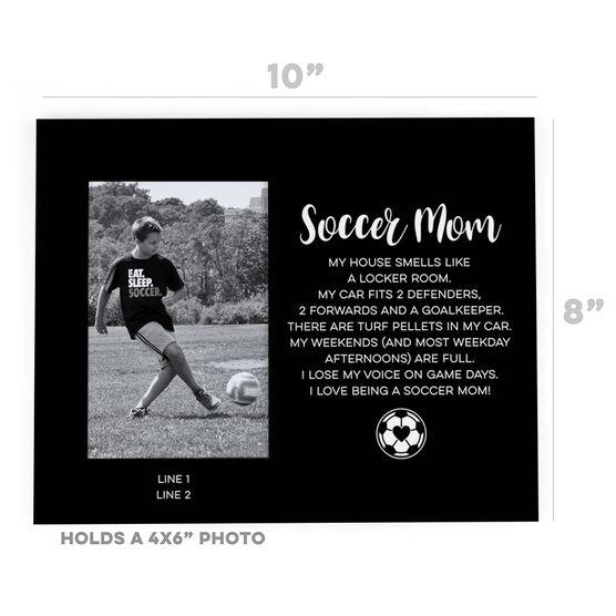 Soccer Photo Frame - Soccer Mom Poem