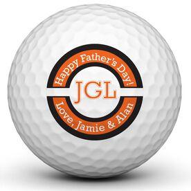 #1 Dad Trophy Golf Ball
