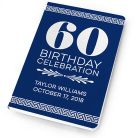 Personalized Notebook - Birthday Celebration Guestbook