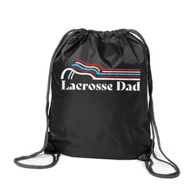 Guys Lacrosse Sport Pack Cinch Sack - Lacrosse Dad Sticks