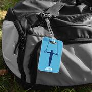 Gymnastics Bag/Luggage Tag - Personalized Gymnast Guy