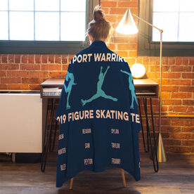 Figure Skating Premium Blanket - Team Roster