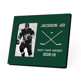 Hockey Photo Frame - Custom Hockey Sticks