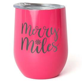 Running Stainless Steel Wine Tumbler - Merry Miles