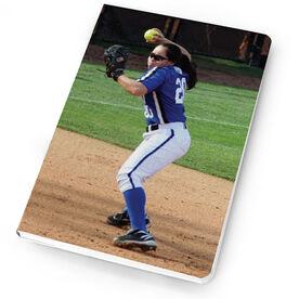Softball Notebook Custom Photo