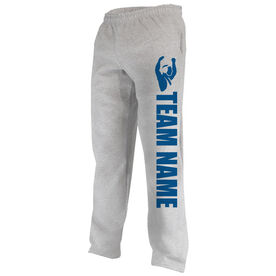 Wrestling Fleece Sweatpants Team Name