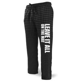 Wrestling Lounge Pants Leave It On The Mat