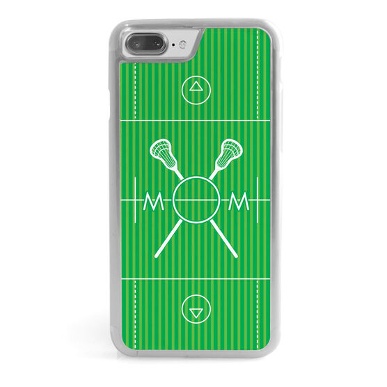 Lacrosse iPhone® Case - Lacrosse Mom Field
