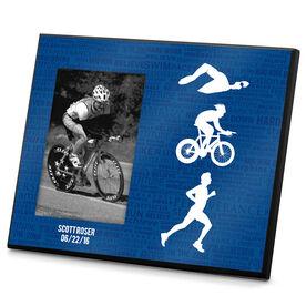Triathlon Photo Frame Tri Inspiration Male