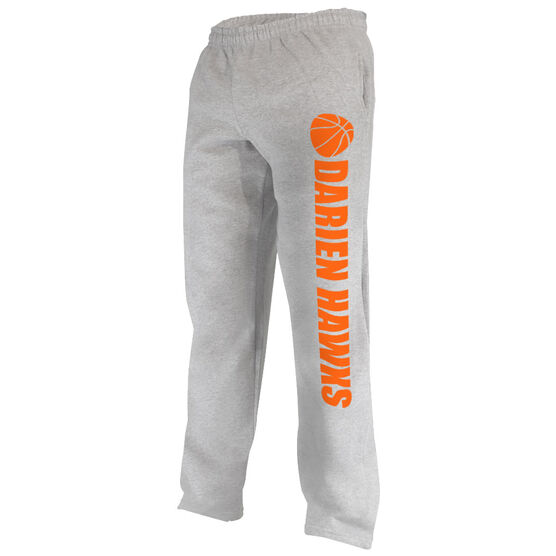 Basketball Fleece Sweatpants Basketball Team Name