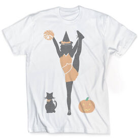 Vintage Cheerleading T-Shirt - Cheer Witch