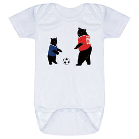 Soccer Baby One-Piece - Bears