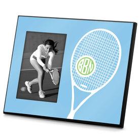 Tennis Photo Frame Monogrammed Tennis Life