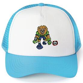Seams Wild Football Trucker Hat - Kingsley