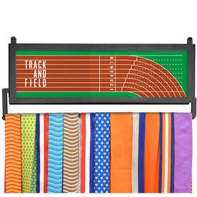 AthletesWALL Medal Display - Track & Field Lanes
