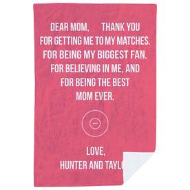 Wrestling Premium Blanket - Dear Mom Heart