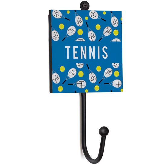 Tennis Medal Hook - Tennis Pattern