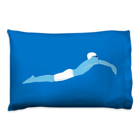 Swimming Pillowcase - Guy