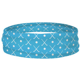 Field Hockey Multifunctional Headwear - Crossed Sticks and Ball Pattern RokBAND