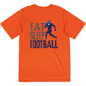 Football Short Sleeve Performance Tee - Eat Sleep Football
