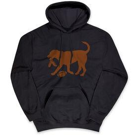 Football Standard Sweatshirt - Football Dog