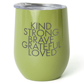 Stainless Steel Wine Tumbler - Kind & Strong
