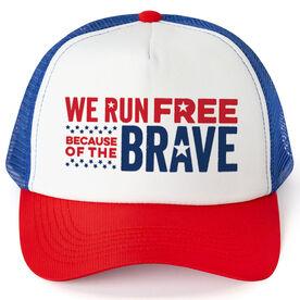 Running Trucker Hat - We Run Free