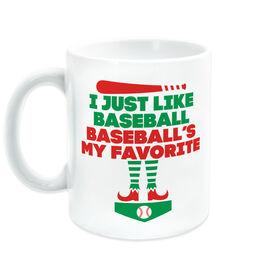 Baseball Coffee Mug - Baseball's My Favorite