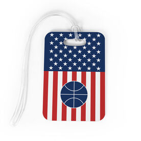 Basketball Bag/Luggage Tag - USA Basketball