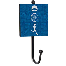 Triathlon Medal Hook - Tri Inspirational Female