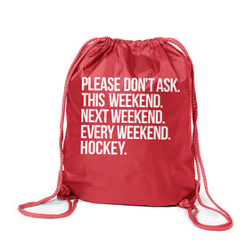 Hockey Sport Pack Cinch Sack - All Weekend Hockey