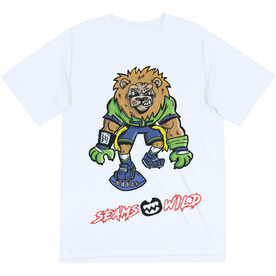 Seams Wild Football Short Sleeve Tech Tee - Kingsley