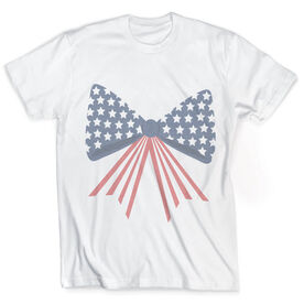 Vintage Cheerleading T-Shirt - Red White & Bows