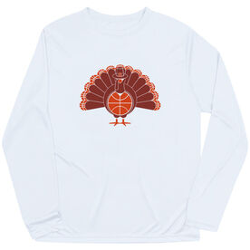Basketball Long Sleeve Performance Tee - Turkey Player