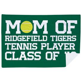 Tennis Premium Blanket - Personalized Tennis Mom
