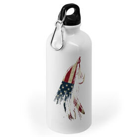 Fly Fishing 20 oz. Stainless Steel Water Bottle - American Lefty