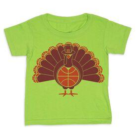 Basketball Toddler Short Sleeve Tee - Turkey Player