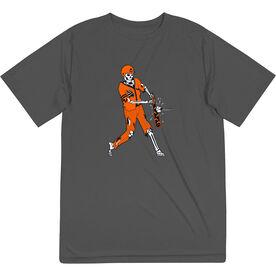 Baseball Short Sleeve Performance Tee - Home Run Zombie