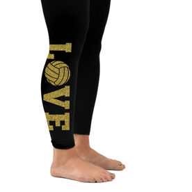 Volleyball Leggings Love