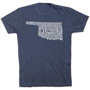 Running Short Sleeve T-Shirt - Oklahoma State Runner