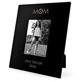 Soccer Engraved Picture Frame - Soccer Mom