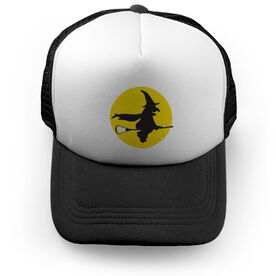 Girls Lacrosse Trucker Hat Witch