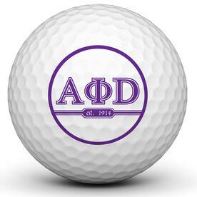 Greek Ball Golf Ball