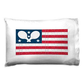 Ping Pong Pillowcase - American Flag