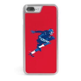 Football iPhone® Case - In The Blur Of A Moment