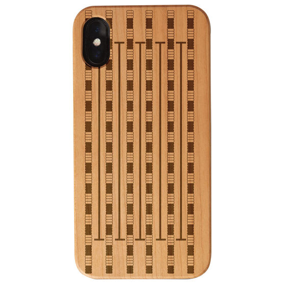Swimming Engraved Wood IPhone® Case - Swimming Lanes