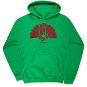 Soccer Hooded Sweatshirt - Turkey Player