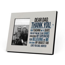Hockey Photo Frame - Dear Dad