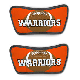 Football Repwell™ Sandal Straps - Football With Text