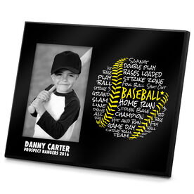 Baseball Frame Baseball Words